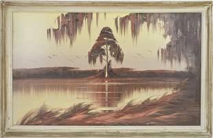 Florida Highwaymen Painting - James Gibson