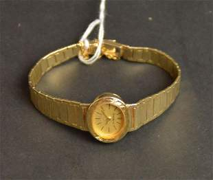 14kt Geneve Ladies Yellow Gold Watch - 22 grams toal
