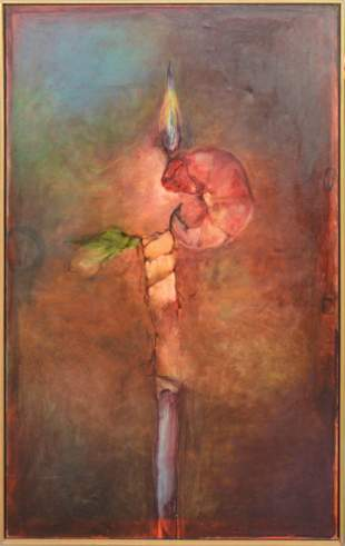 Large Contemporary Oil Painting - ca. 1995/97 ,