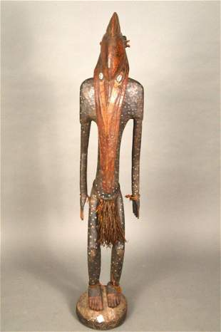 Sepik River, Papua, New Guinea wood carved Sculpture ,
