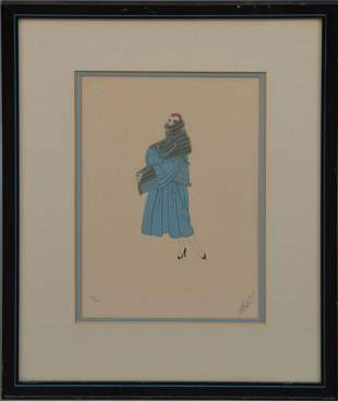 ERTE' TRES CHIC - 1975, Lithograph on Arches paper,
