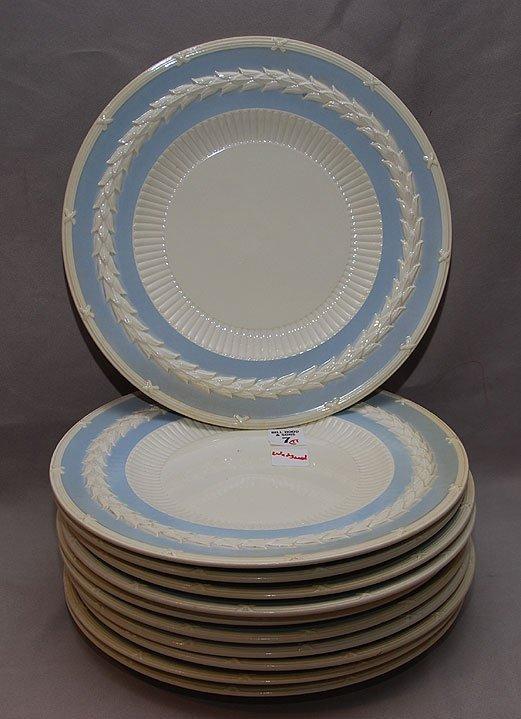 "7: 11 ""Wedgwood Of Etruria & Barlaston"" service plates,"