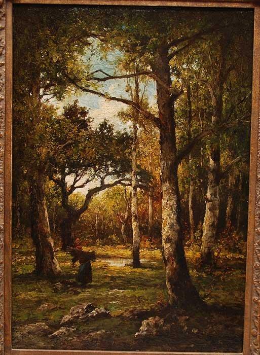 175: Henri Joseph Harpignies (FRENCH, 1819-1916) oil on