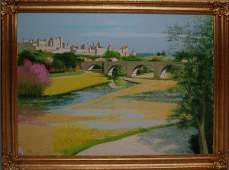 286 Jacques Eitel French born 1926 oil on canvas O