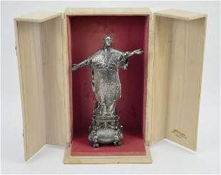 Italian Silver Figure of a Priest Marks of Mortet -