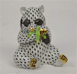 "Herend Black & White Panda, 5""h"