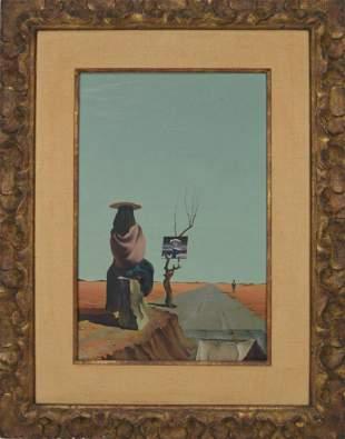 Jose Manuel Capuletti (Spanish, 1925-1978) oil on
