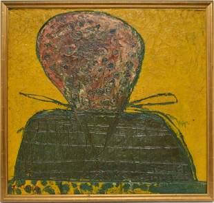 Jay Milder (American, B. 1934) Abstract Head/Shoulders,