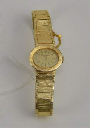 14K Yellow Gold Geneve Ladies Watch. Weight 22 grams