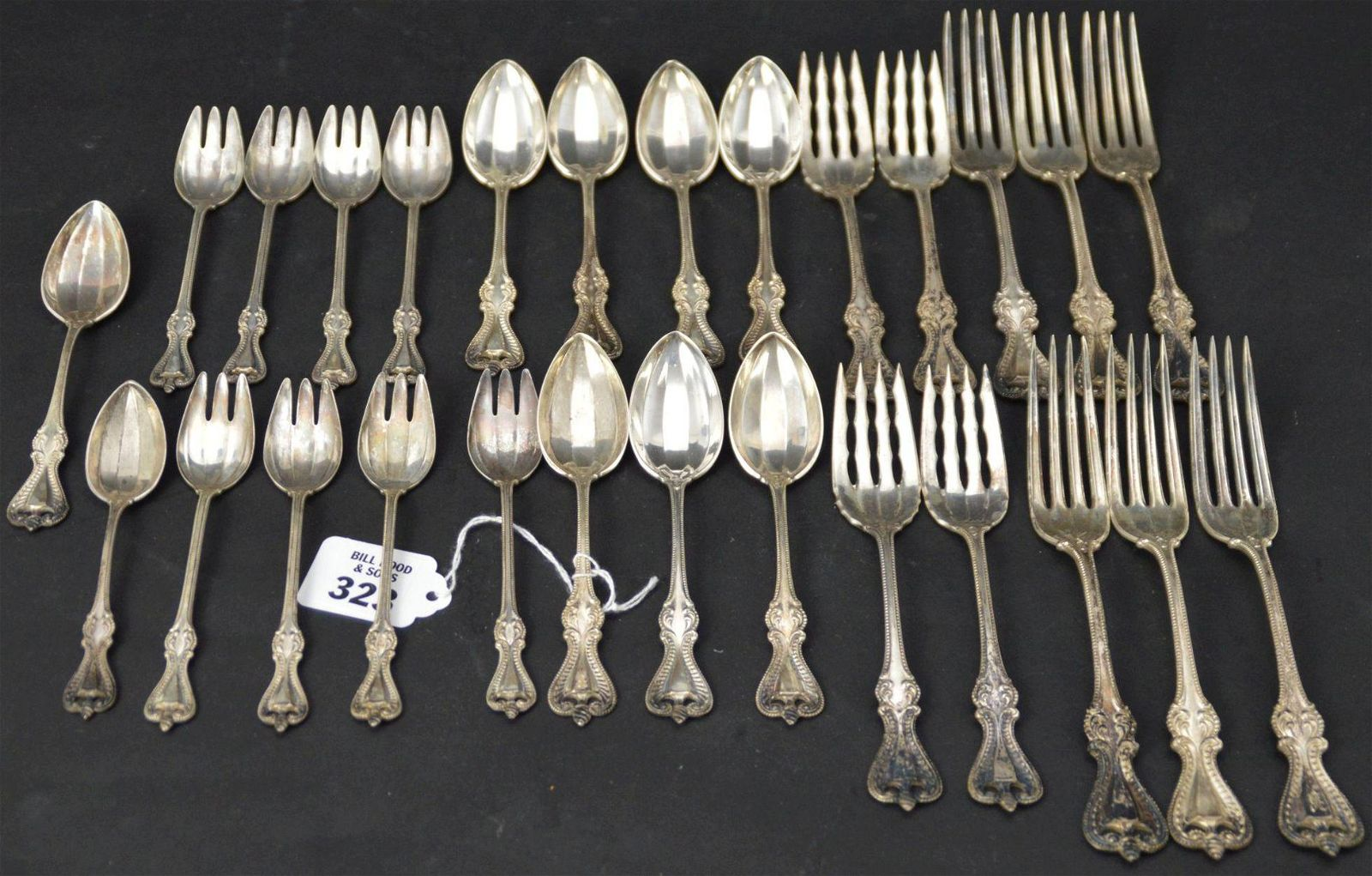 """Sterling Silver Towle Old Colonial Flatware. 6 - 7"""""""