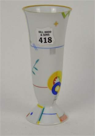 """Rosenthal Bud Vase, Signed, 7 1/4""""h"""