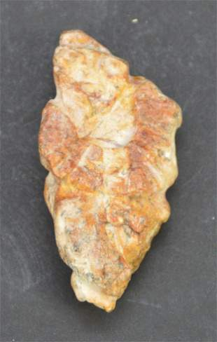 Pre-Columbian Stone Pendant Carving, Carved Stone