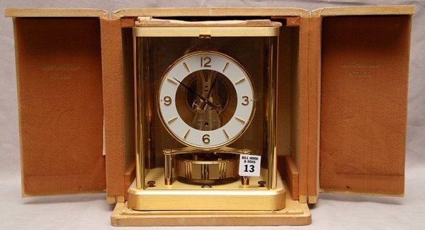 13: Atmos clock in original box, working