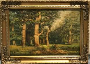 Russian Painting attributed to: Ivan Shishkin (RUSSIAN,
