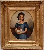 151: Eugène Joors (BELGIAN, 1850-1910) oil on canvas, g