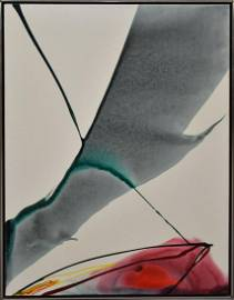 PAUL JENKINS (New York 1923 - 2012) oil on canvas -