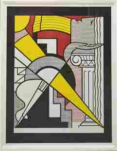 Roy Lichtenstein - Signed Pop Art LithographRoy