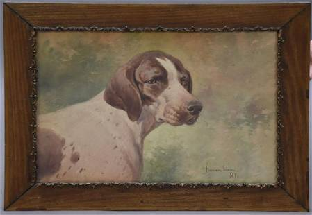 Hermann Gustave Simon (AMERICAN, 1846–1895) Watercolor