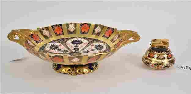 Royal Crown Derby England Imari Centerpiece Bowl &