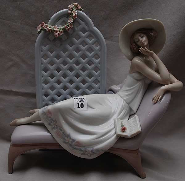"10: Lladro figural ""Garden of Dreams"" specially made fo"