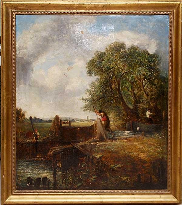 152: Attributed to John Constable (BRITISH, 1776-1837)