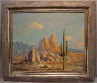 99 Thomas L Lewis  New Mexico 1907  1978 oil on ca