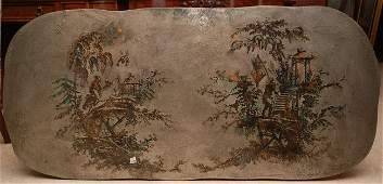 130: Philip Kelvin LaVerne signed coffee table