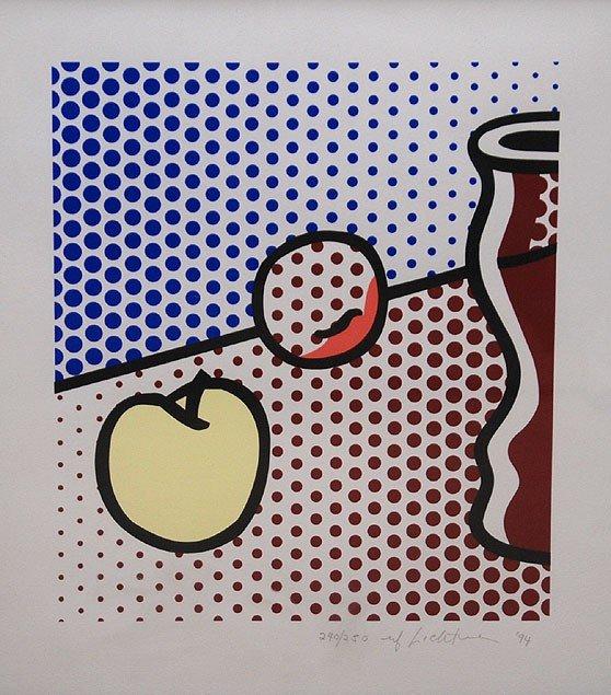 50: Roy Lichtenstein (AMERICAN, 1923-1997) Modern Still