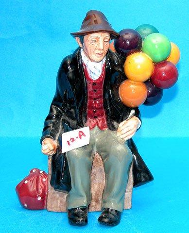 """1012A: 7 1/4"""" Royal Doulton """"Balloon Man"""", HN 7954"""