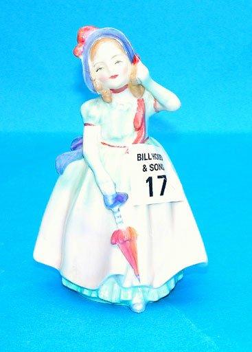 """1017: Royal Doulton """"Babie"""", HN 1679, 4 3/4""""h"""