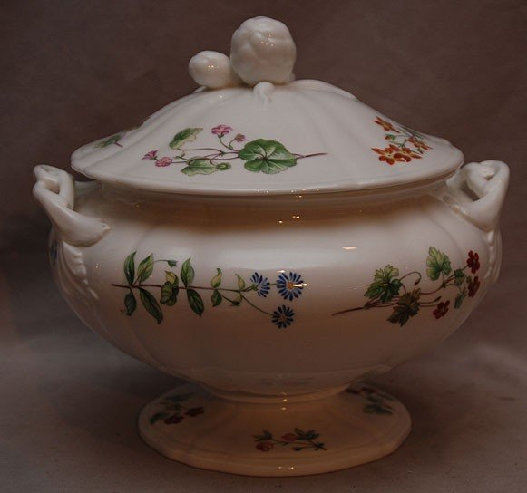 10: Covered Minton tureen