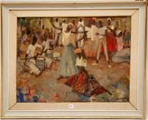 269 2 Paintings sold together Italian school 20th Cen