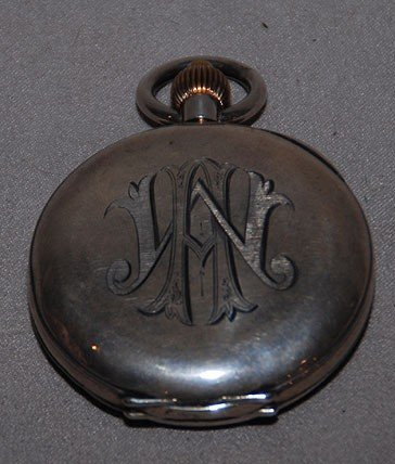 2A: Le Phare Swiss chronograph pocket watch, case is st - 2
