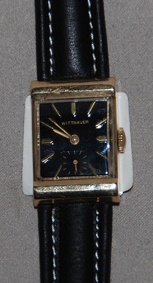 4B: Longines Wittnauer pocket watch, 14kt, working