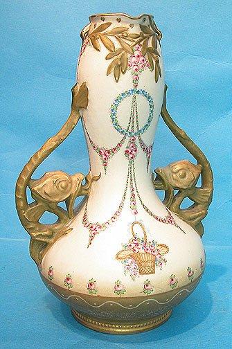 7: Highly decorated amphora double handled vase, 2 myth