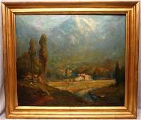 George Thompson Pritchard (AMERICAN, 1878-1962) oil