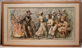 157 Emil Jean Kosa Jr AMERICAN 19031968 oil on ma