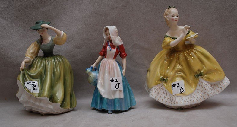"2: Three Royal Doulton figures of ladies, HN2309 ""Butte"