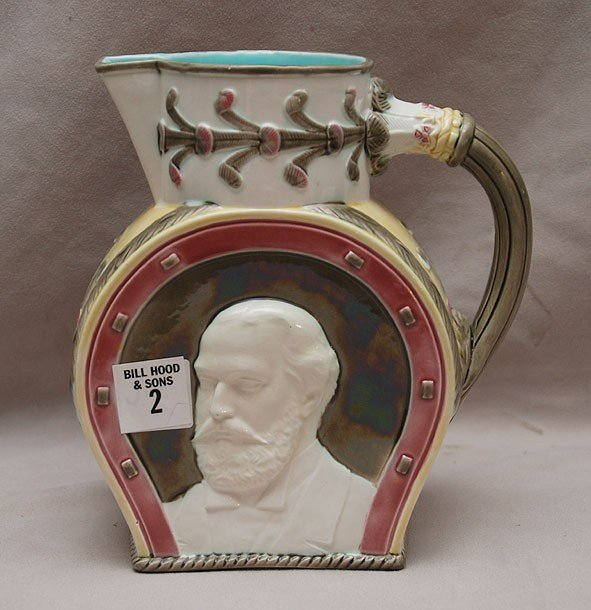 "2: Wedgwood commemorative jug, 7""h"