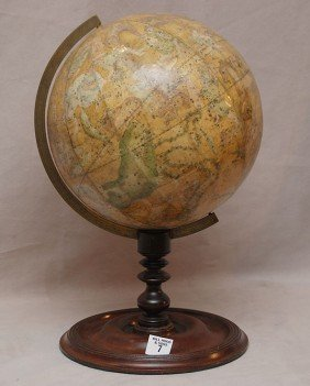 7: Newton's New & Improved Celestial globe, Manafacture