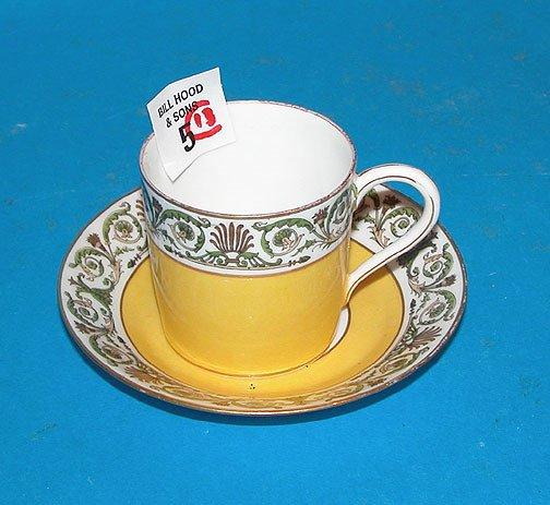 1005: (6) Sevres demitasse cups, (7) saucers