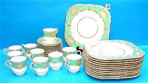 1066 33 pc Royal Worcester porcelain dessert service