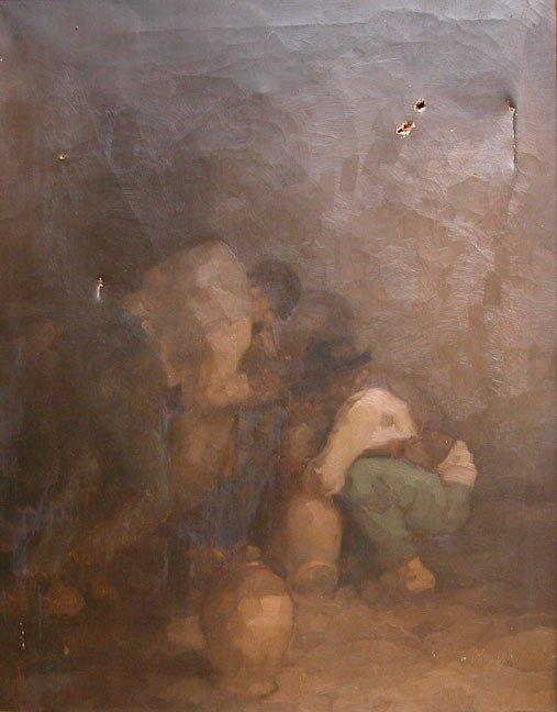 1154: Edmund Blampied German oil painting