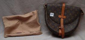 """Vintage Louis Vuitton """"Saddlebag"""" Purse, Normal We"""