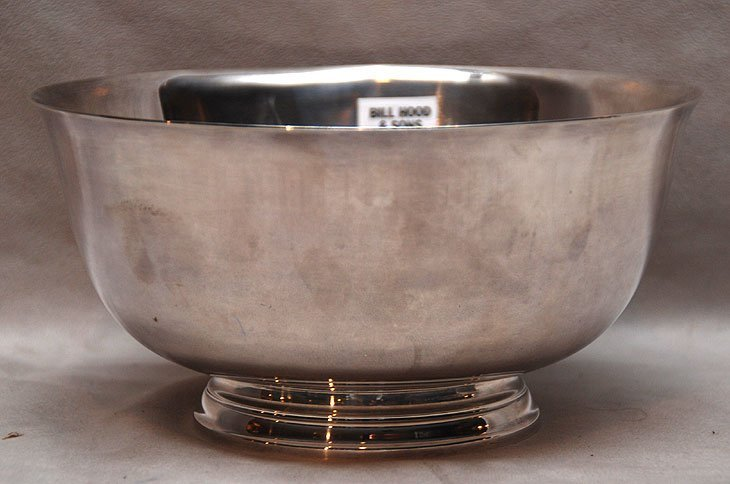 "18: Tiffany sterling bowl, 15oz, 4""h x 7 1/2""dia"