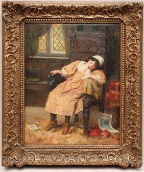 George Sheridan Knowles (BRITISH, 1863-1931) Oil O