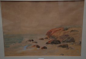 Maynard Dixon (AMERICAN, 1875-1946) Watercolor, Co