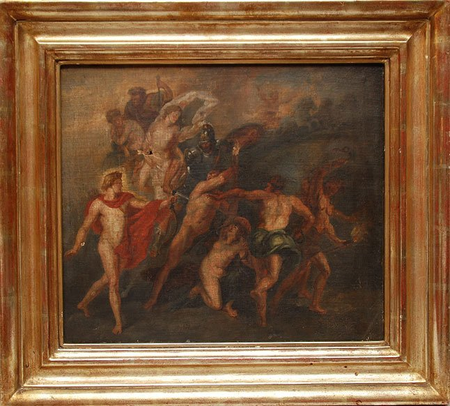 108: After Peter Paul Rubens, 18th/19th Century oil on