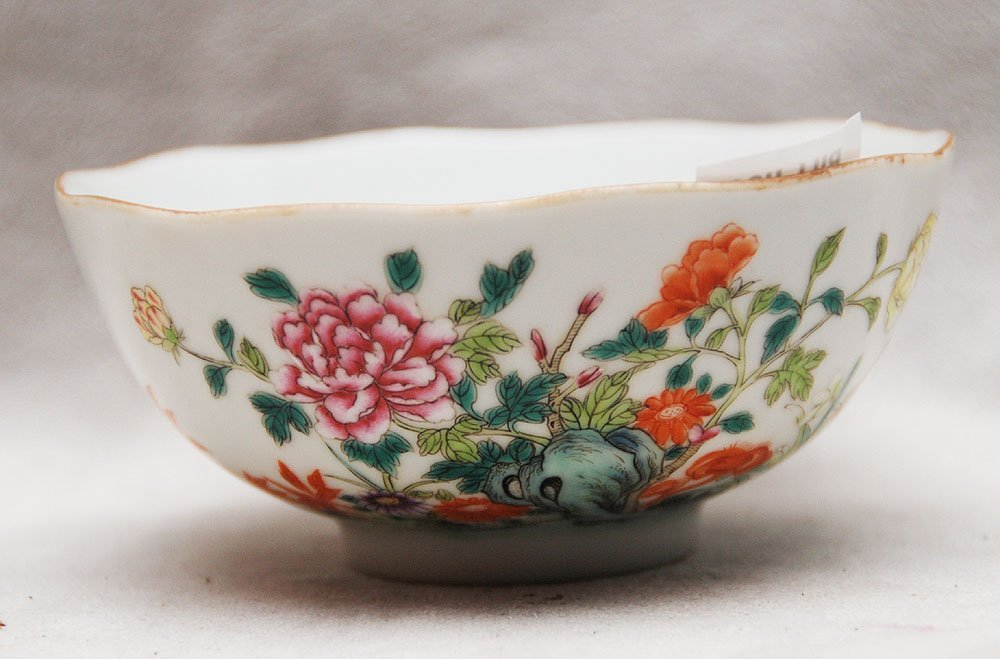 "18: Chinese Dao Guan rice bowl, 1 7/8""h x 4 1/2""dia"