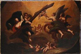 ATTR. FRANCESCO ALBANI ITALIAN Old Master Ca 1650